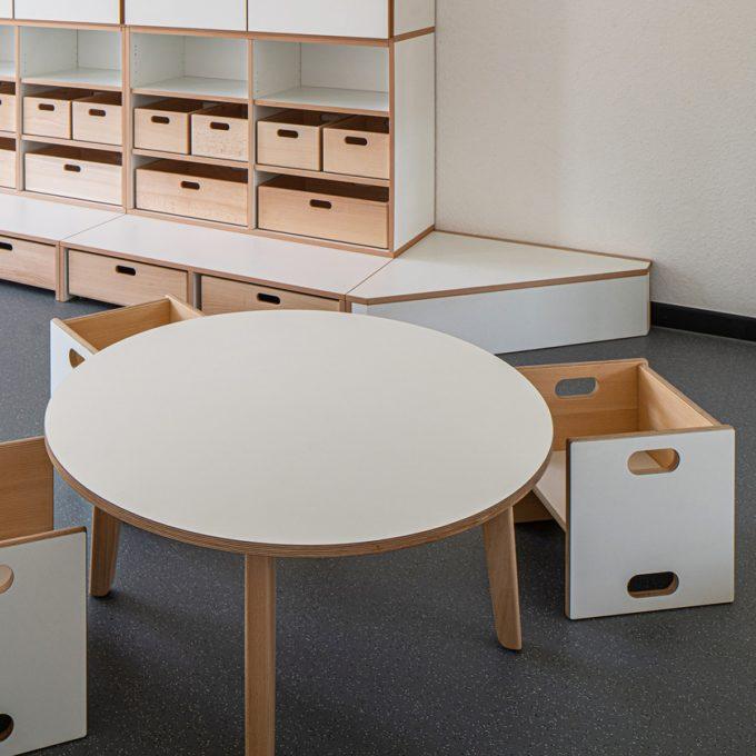 De Breuyn Tisch rund - Durchmesser: 90 cm 8