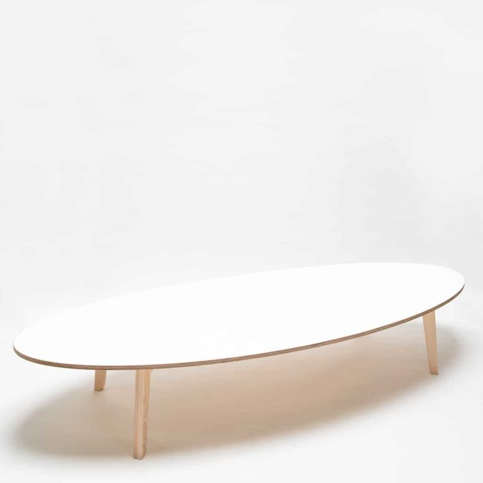 De Breuyn Tisch oval 100x240cm 8