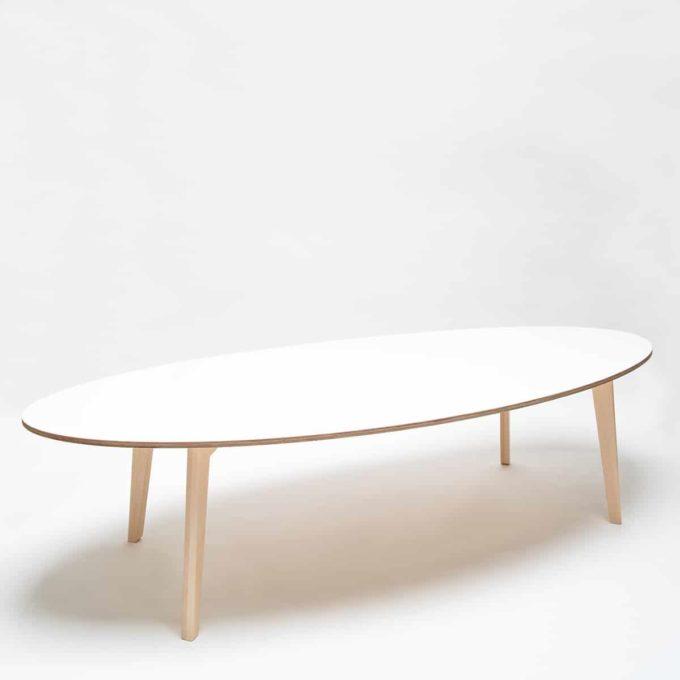 De Breuyn Tisch oval 100x240cm 7
