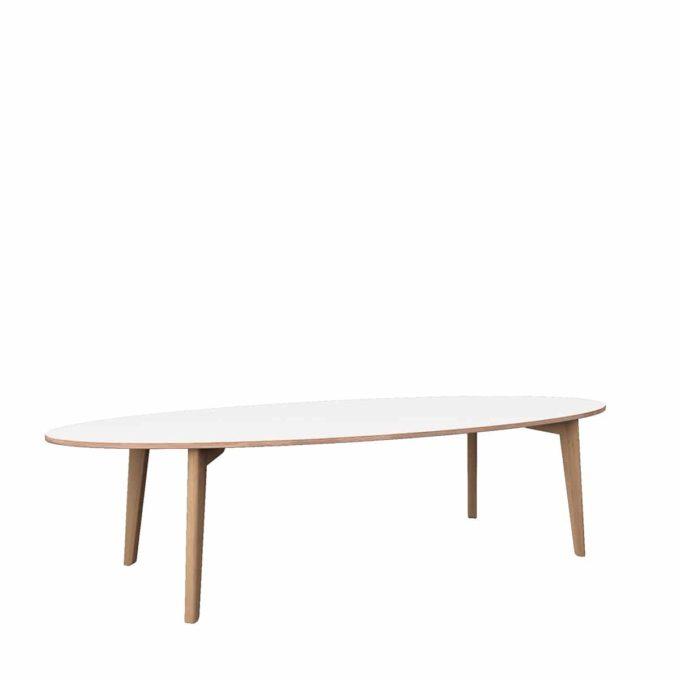 De Breuyn Tisch oval 100x240cm 1