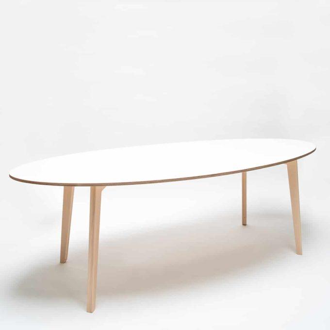 De Breuyn Tisch oval 100x240cm 6