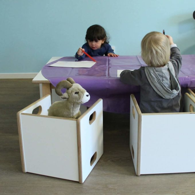 De Breuyn Wandelstuhl - HPL - Kleinkindstühle U3-Bereich 2