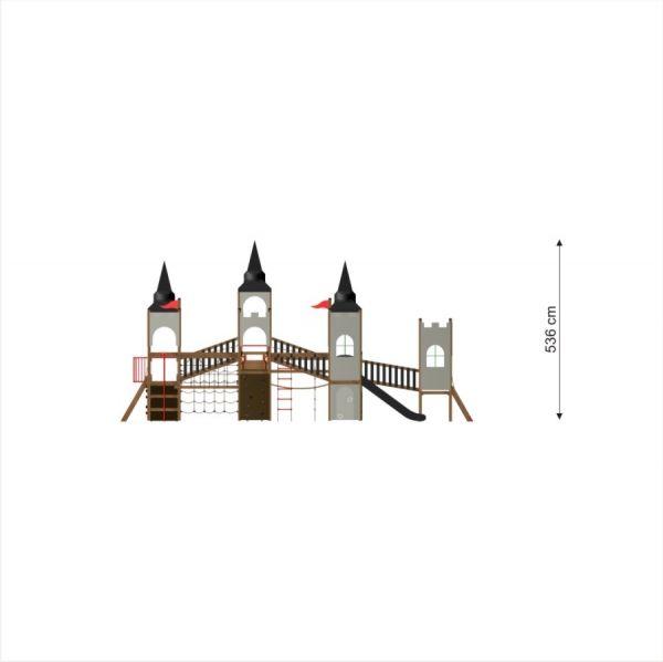 Lars Laj Spielanlage Schloss Windsor mit Drachen 2