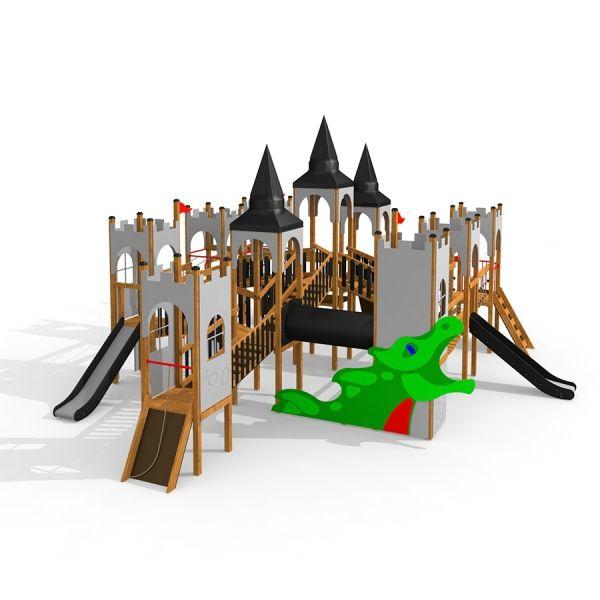 Lars Laj Spielanlage Schloss Windsor mit Drachen 1