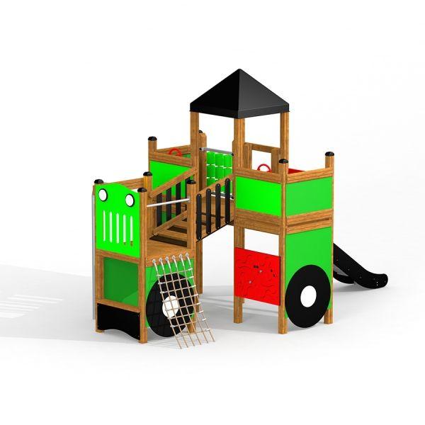 Lars Laj Spielturm Großer Traktor 1