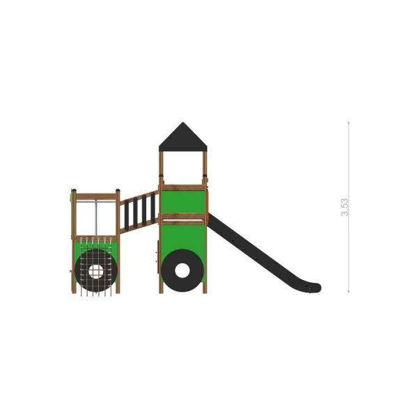 Lars Laj Spielturm Großer Traktor 3