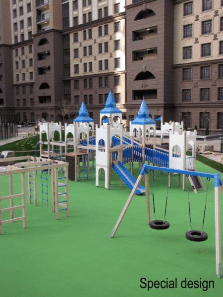 Lars Laj Spielplatzanlage Winterschloss 8