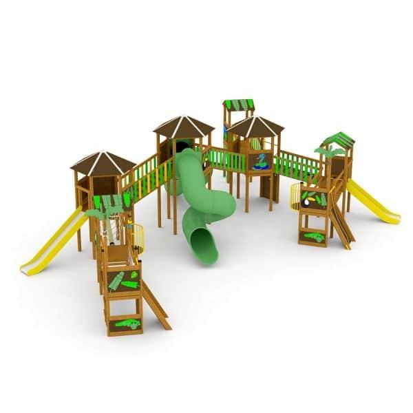 Lars Laj Spielplatzanlage Dschungelstadt 1