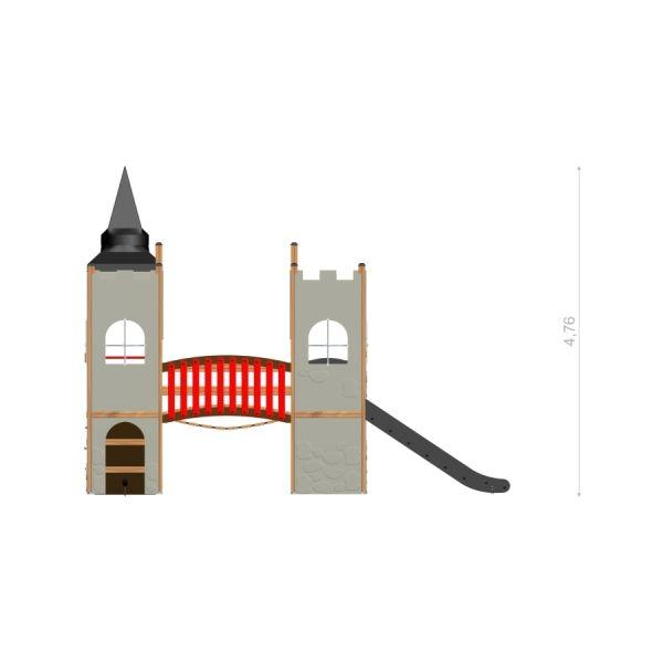 Lars Laj Spielanlage Schloss Camelot 4
