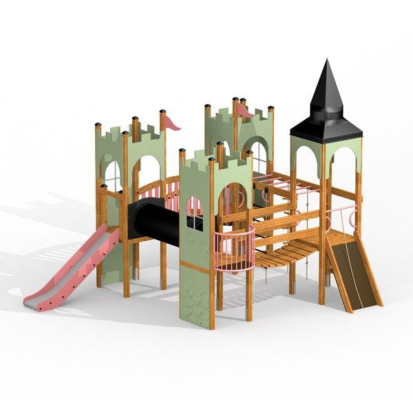 Lars Laj Spielanlage Schloss Camelot 2