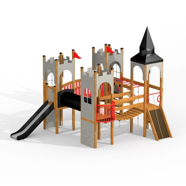 Lars Laj Spielanlage Schloss Camelot 1