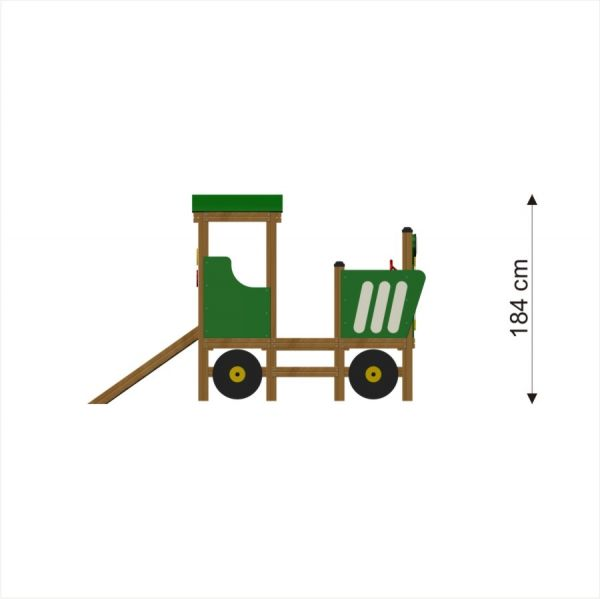 Lars Laj Spielhaus Traktor 4