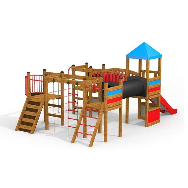 Lars Laj Spielplatzanlage Tarzan Festung 1