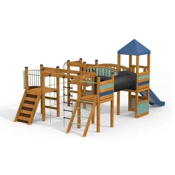 Lars Laj Spielplatzanlage Tarzan Festung 2