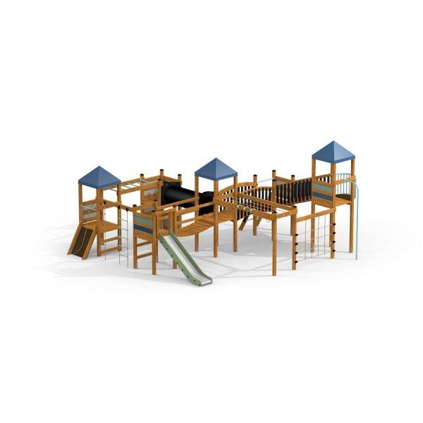 Lars Laj Spielanlage Drei Türme Festung 4