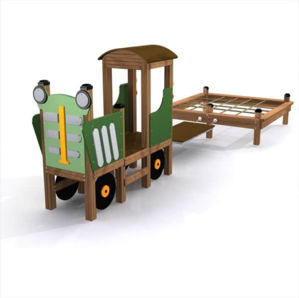 Lars Laj Spielhaus Traktor 1