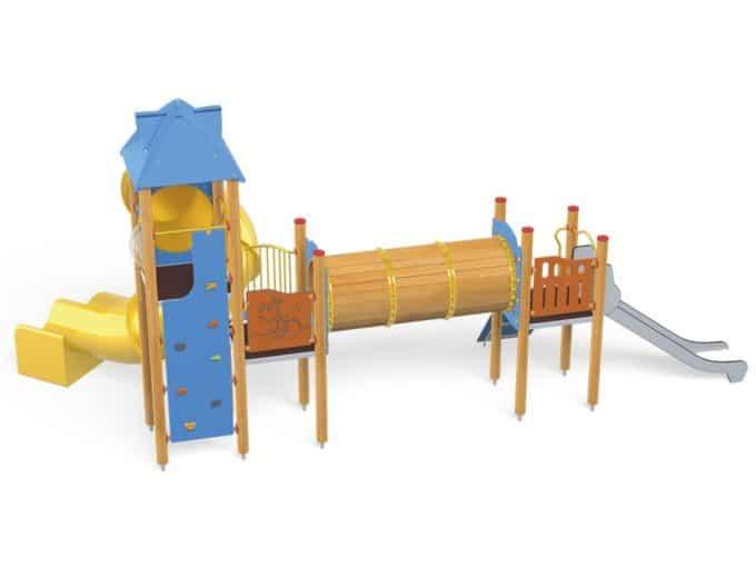 Spielturm-Anlage Orbis 11367 von Novum Spielgeräte 6