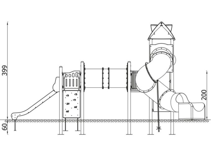 Spielturm-Anlage Orbis 11367 von Novum Spielgeräte 13